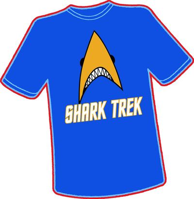 Image of Shark Trek T-shirt MED
