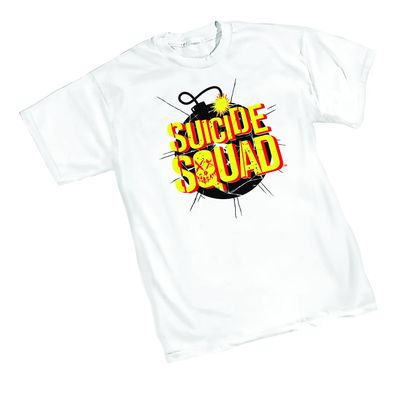 Image of Suicide Squad Bomb T-Shirt XL