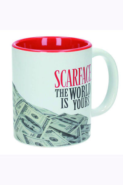 Scarface Tony Montana White Ceramic Mug SEP163036U