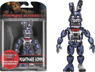 Five Nights At Freddys Nightmare Bonnie Action Figure SEP168624I