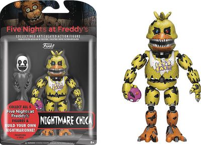 Five Nights At Freddys Nightmare Chica Action Figure SEP168625I