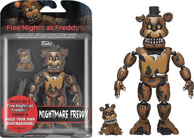 Five Nights At Freddys Nightmare Freddy Action Figure SEP168627I