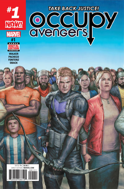 Occupy Avengers #1 (2nd Printing)