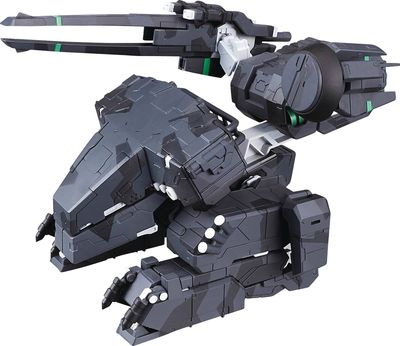 Metal Gear Solid: Varible Action D-Spec Metal Gear Rex PVC Figure Black Version SEP168832I