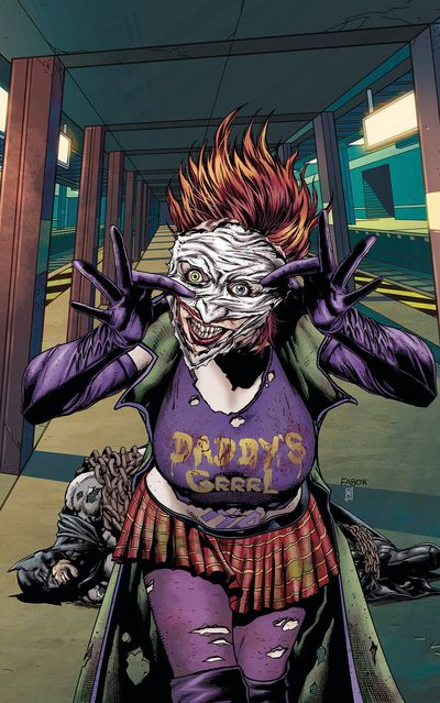 Batman Arkham Jokers Daughter TPB SEP170410D