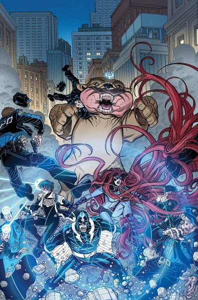 Inhumans Once Future Kings #4 (of 5) SEP170952D