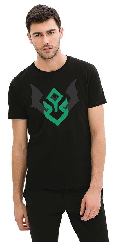 Image of Dark Night Metal Devastator Symbol T-Shirt LG