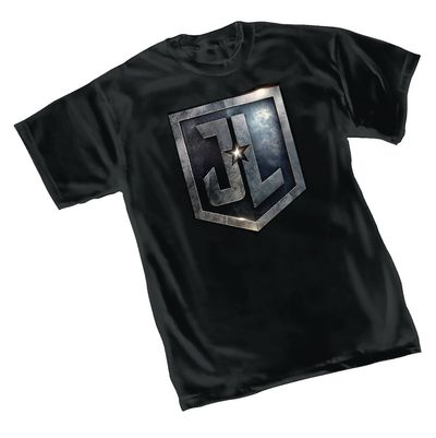Image of Justice League Shield T-Shirt XXL