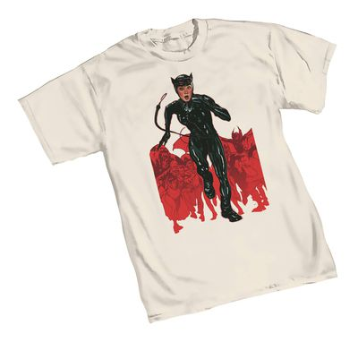 Image of Catwoman Chase T-Shirt XXL