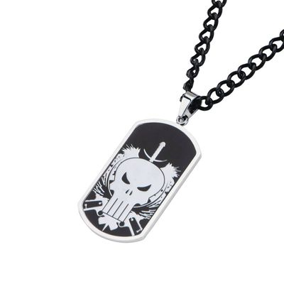Marvel Punisher Skull Dogtags SEP172367U