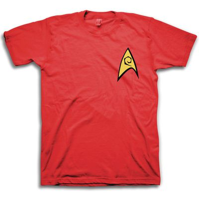 Image of Star Trek Engineering Red T-Shirt LG