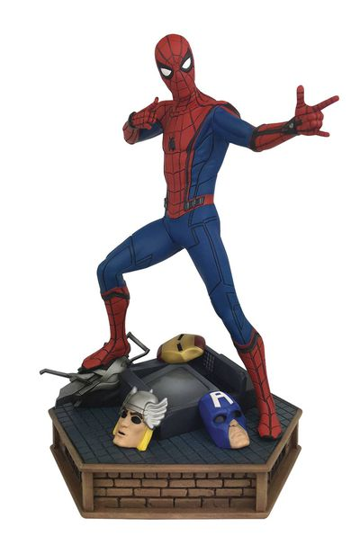 Marvel Premier Coll Spider-Man Homecoming Statue SEP172487U