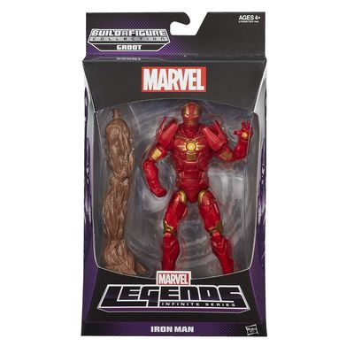 Marvel Legends Infinite Series Guardians of the Galaxy Iron Man (Build a Figure) A7903-A7909