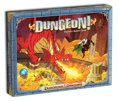 Dungeons & Dragons Dungeon Fantasy Board Game