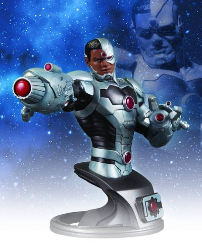 DC Comics The New 52 Cyborg Bust APR120305X
