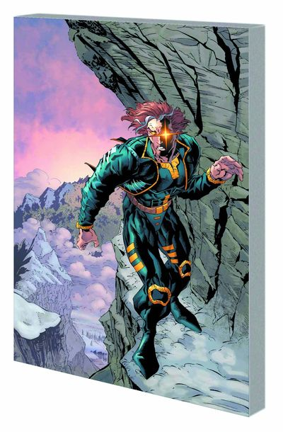 X-Man Man Who Fell To Earth TPB APR120730D