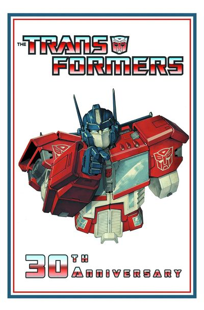 Transformers 30th Anniversary Collection HC APR130335E