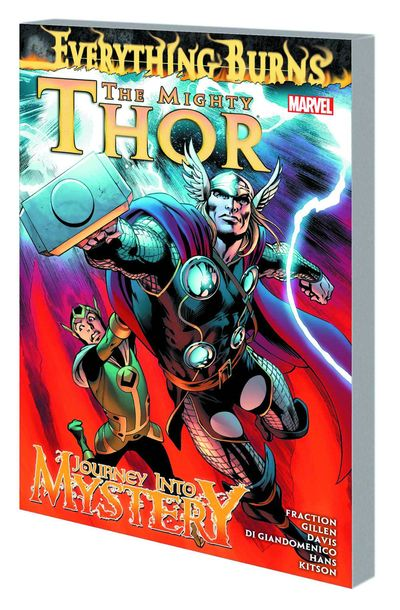 Mighty Thor and Journey Into Mystery TPB Everything Burns APR130728D