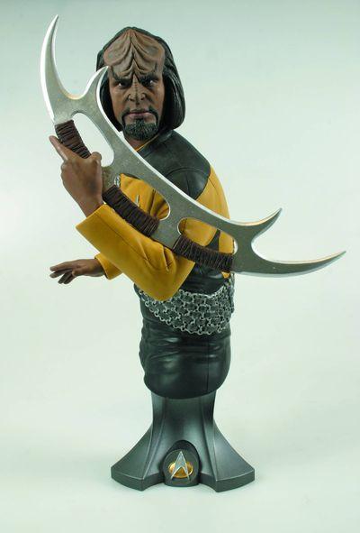 Star Trek Lt Commander Worf Maxi Bust
