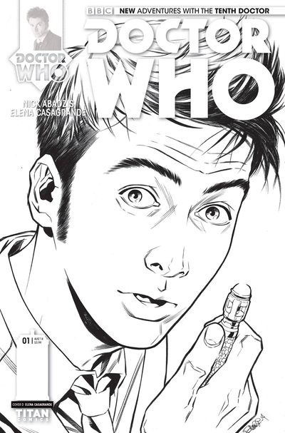 Doctor Who 10th #1 (Retailer 25 Copy Incentive Variant Cover Edition) APR141375F