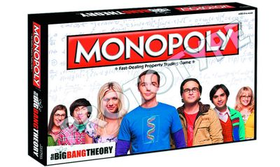 Big Bang Theory Monopoly APR142387J