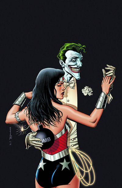 Wonder Woman - Joker Cover