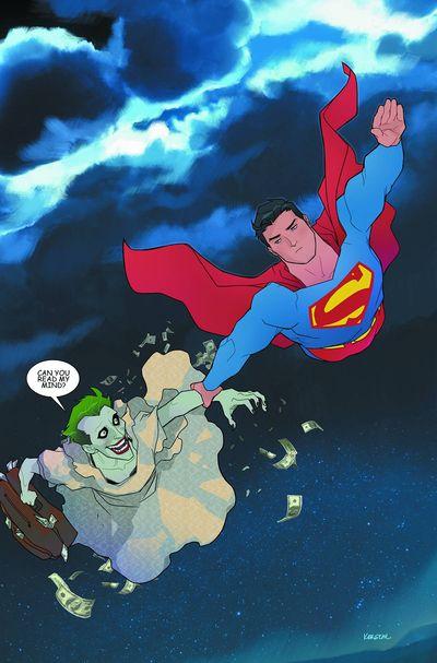 Superman - Joker Cover