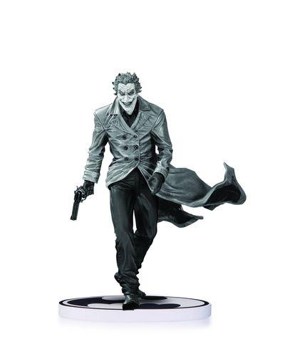 Batman Black & White Statue Joker By Bermejo 2nd Ed