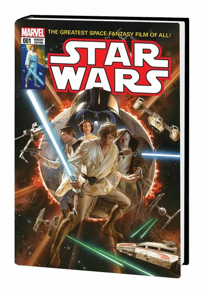 Star Wars Marvel Covers HC Vol 01 Ross Cover