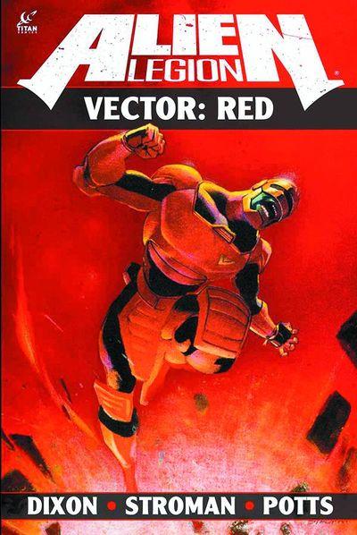 Alien Legion Vector Red TPB