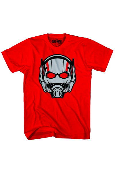 Image of Ant-man Ant Head Previews Exclusive Red T-Shirt LG
