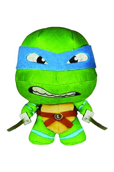 Fabrikations Teenage Mutant Ninja Turtles Leonardo Soft Sculpt Plush Figure 4321