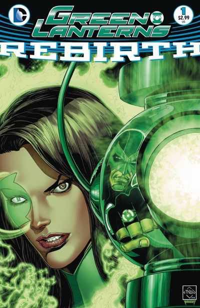 Green Lanterns Rebirth comics at TFAW.com