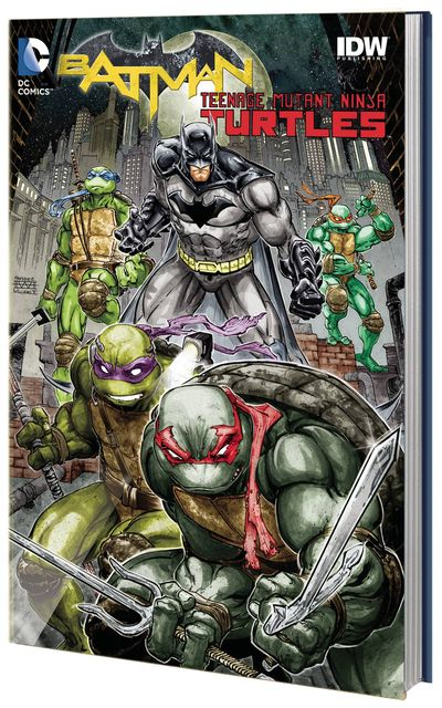 Batman Teenage Mutant Ninja Turtles HC APR160380D