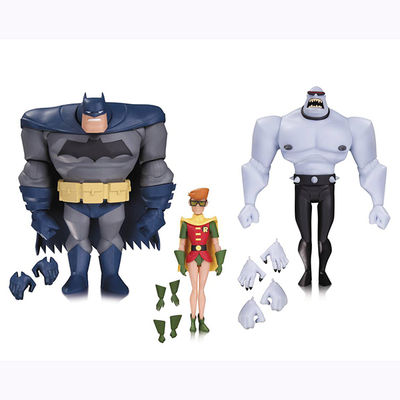 Batman Animated Batman Robin Mutant 3 Pack OCT160340Y