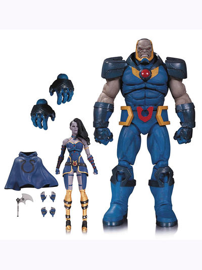 DC Comics Icons Darkseid And Grail Action Figure 2 Pack APR160448X