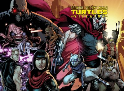 Teenage Mutant Ninja Turtles Villains Collection HC APR160480E
