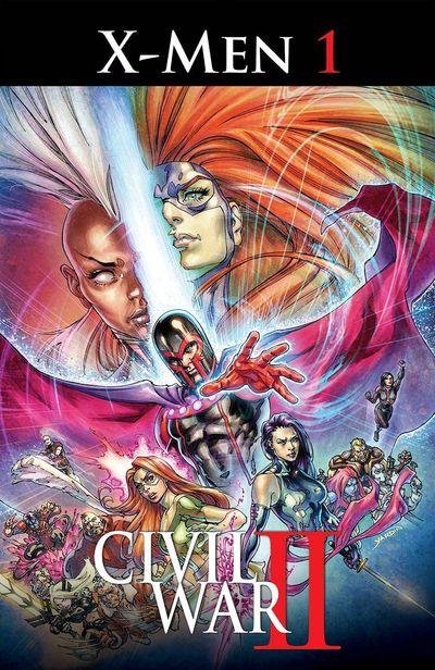 <Civil War II X-Men comics at TFAW.com