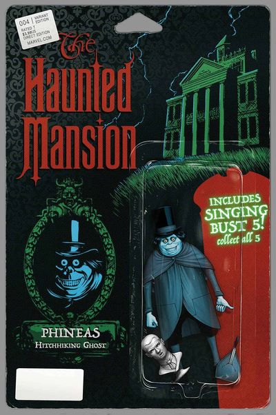 Haunted Mansion #4 (of 5) (Christopher Action Figure Variant Cover Edition)