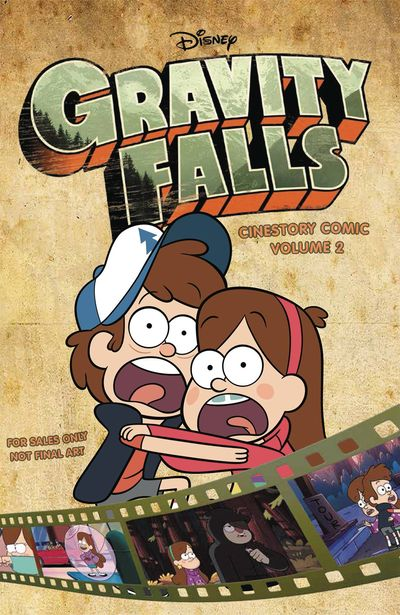 Disney Gravity Falls Cinestory TPB Vol. 02 APR161713F