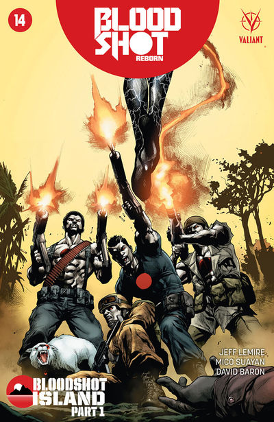 Bloodshot Reborn #14 (Cover D - Segovia) APR162030E