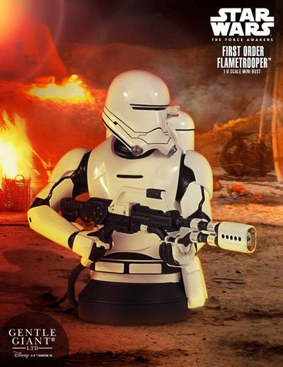 Star Wars VII First Order Flametrooper Mini-bust APR162829I