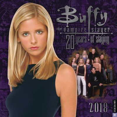 Buffy the Vampire Slayer Buffy 2018 Wall Calendar