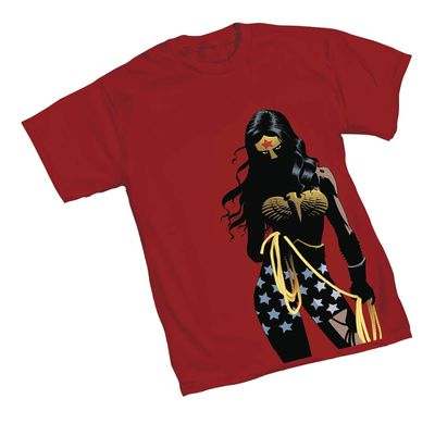 Image of Wonder Woman Shadows T-Shirt LG