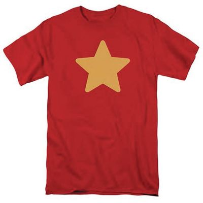Image of Steven Universe Stevens Star Shirt Red T-Shirt LG