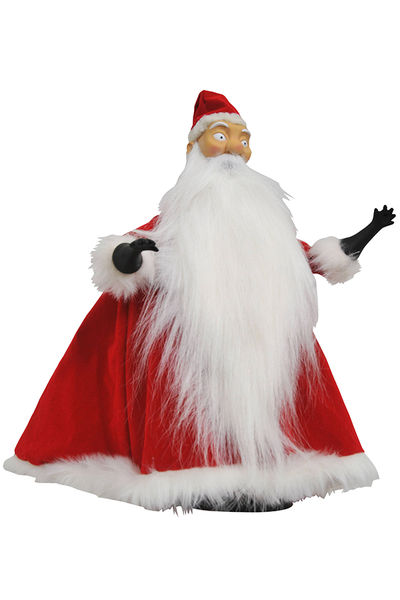 Nightmare Before Christmas Santa Deluxe Cloth Doll APR172633U