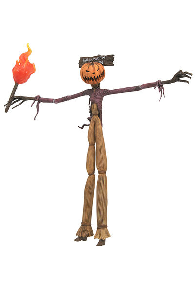 Nightmare Before Christmas Select Series 3 Pumpkin King Jack Action Figure APR172635I