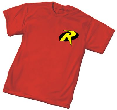 Image of Robin Symbol Youth T-Shirt Med