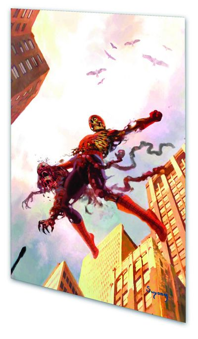 Marvel Zombies TPB Spider-Man Cover AUG082452D