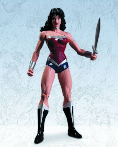 Justice League Wonder Woman Action Figure AUG120306X
